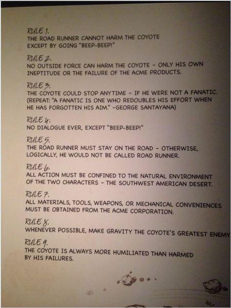 revelan-9-reglas-del-coyote-y-correcaminos