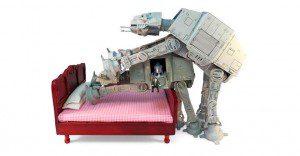 Un singular Kamasutra de Star Wars presentado con los personajes de esta saga galáctica