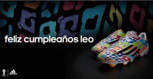 El horrible regalo que Adidas le dio a Messi por su cumpleaños