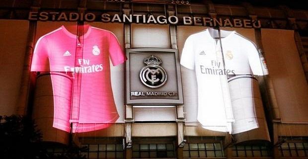 El Real Madrid lanza su nueva camiseta con un alucinante show en 3D ... a37585e0d1bbd