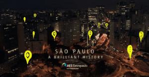 Original campaña de la compañía de electricidad más grande de Brasil que revive la historia de São Paulo