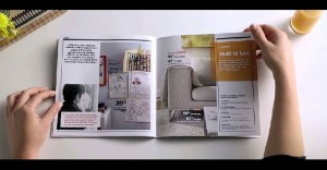 Un catálogo para el hogar que muestra lo que muchas veces pasa dentro de él
