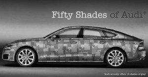 """Audi también se suma al éxito de """"50 sombras de Grey"""""""