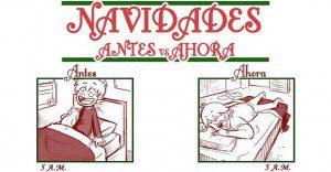 La navidad de antes vs. la navidad de hoy