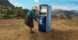 Un cajero automático que entrega algo con mucho más valor que el dinero