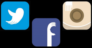 Transforman logos de redes sociales para transmitir mensaje sobre cáncer de mama