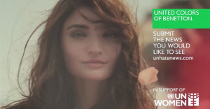 Benetton lanza una campaña contra la violencia sobre la mujer
