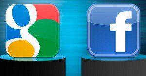 Facebook o Google, he ahí el dilema