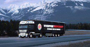Burger King sorprende con una nueva forma de llegar donde la cadena no está