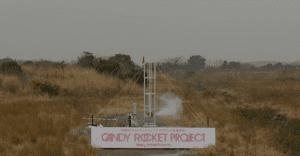 El primer cohete lanzado usando golosinas