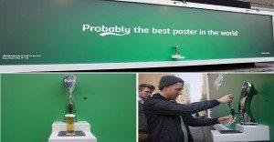 Carlsberg presenta un anuncio publicitario que regala cerveza
