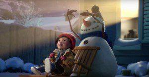 Una niña y su muñeco de nieve nos demostrarán el verdadero valor de la amistad  en este hermoso corto navideño