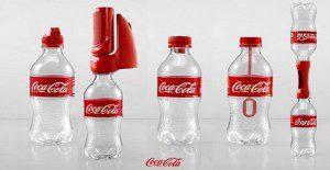 Las botellas plásticas de Coca-Cola cobran vida en útiles accesorios