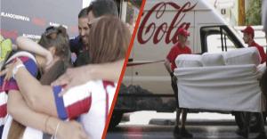 Coca-Cola nos muestra lo tanto que le gusta el fútbol con 2 originales acciones publicitarias