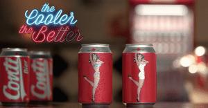 Una marca de cerveza en Brasil crea una controversial lata que desnuda a su protagonista