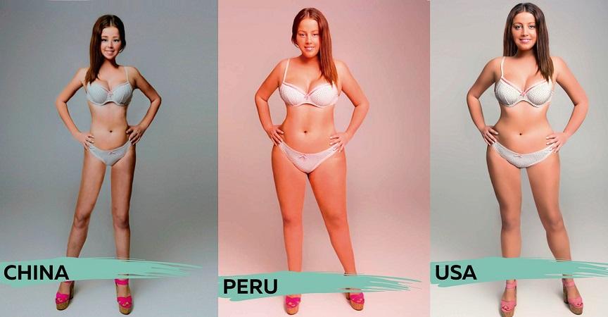 """El cuerpo de una mujer fue """"photoshopeado"""" para mostrar cómo se ve ..."""