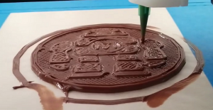¿Te imaginas una impresora 3D con Nutella? Ya lo hicieron posible!!