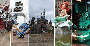 Banksy presenta el video de su perturbador parque de diversiones