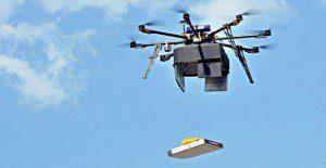 Una pizzería en Rusia empieza a usar oficialmente el servicio de delivery con drones