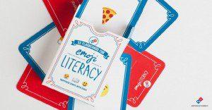 """Domino's Pizza nos da la solución para no ser unos """"analfabetos"""" del lenguaje emoticon"""