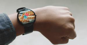 Domino´s Pizza se suma a la moda de los wearables con una app para smartwatches