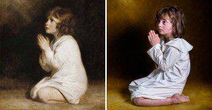 Niños con síndrome de down recrean famosas obras de reconocidos pintores