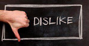 """Facebook evalúa el botón de """"No me gusta"""""""