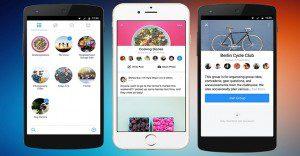 Facebook presenta una nueva aplicación exclusiva para grupos