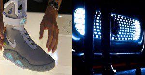 De la ficción a la realidad: la llegada de las zapatillas de Volver al Futuro y el regreso del Auto Fantástico