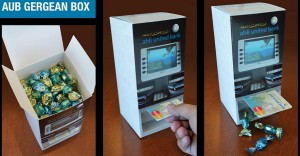 Cajeros automáticos con caramelos para incentivar a los niños la banca
