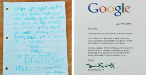 Emotiva carta de una niña a Google se vuelve viral