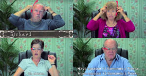 ¿Cómo reacciona la gente mayor a las Google Glass?