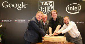 Google, Intel y Tag Heuer anuncian un nuevo reloj inteligente