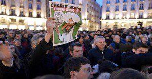 El mundo se solidariza por el atentado contra Charlie Hedbo