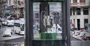 La Copa de la Champions League ya está en Madrid