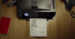 Una impresión de HP que ayuda a cientos de niños perdidos para su ubicación