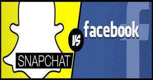 Snapchat vs Facebook: conoce más acerca de las dos grandes plataformas sociales