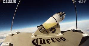 La primera margarita preparada en el espacio
