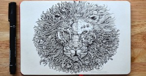 """Cuando de hacer increíbles dibujos a mano se trata, Kerby Rosanes dice """"Yo"""""""