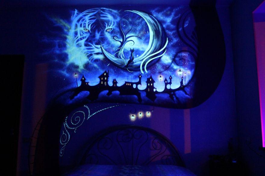 La magia de las pinturas fluorescentes - mott.pe