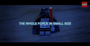 """LEGO presenta sus nuevos personajes de Star Wars con un divertido spot que muestra el poder de """"la fuerza"""""""