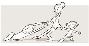 Divertidas tiras cómicas que nos explican la paternidad a la perfección