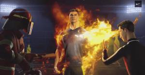 Nike incendia a Cristiano Ronaldo para su último spot