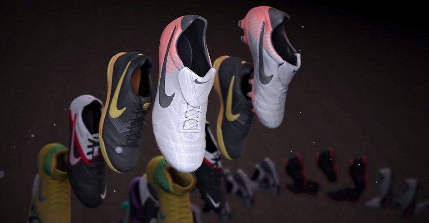 La evolución de las zapatillas Nike [Ilustraciones] I