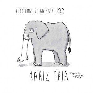 Problemas de los animales recreados en cómics