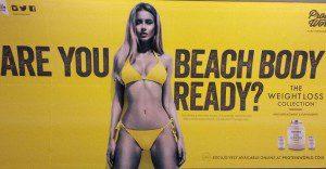 """""""¿Estás preparada para lucir un cuerpo de playa?"""""""