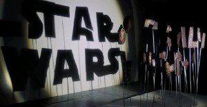Increíbles figuras de Star Wars creadas con sombras
