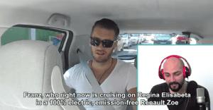 Un viaje de lo más amigable con Renault y Uber