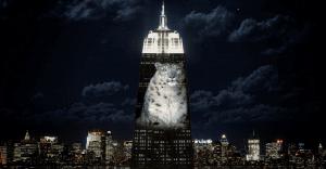 """Asombrosa campaña que """"rediseñó"""" uno de los más populares edificios de Nueva York"""