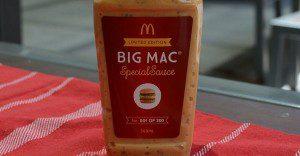 ¿Cuánto pagarías por la nueva salsa secreta envasada de McDonald´s?